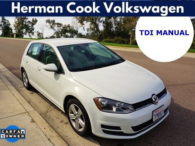 2015 Volkswagen Golf TDI S 4-Door Encinitas CA