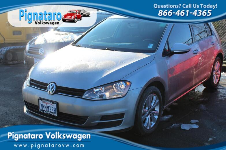 2015 Volkswagen Golf TDI S 4-Door Everett WA