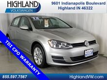 2015_Volkswagen_Golf_TDI S 4-Door_ Highland IN