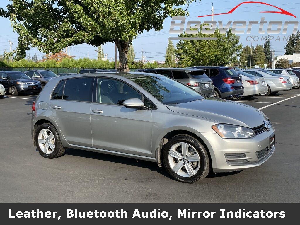 2015 Volkswagen Golf TDI S 4-Door OR