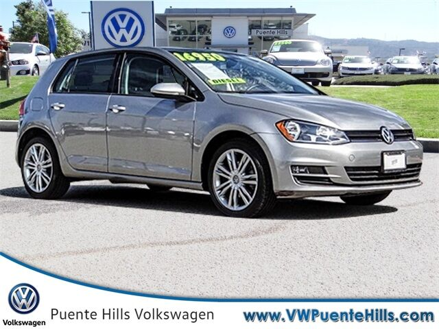 2015 Volkswagen Golf TDI SE 4-Door City of Industry CA