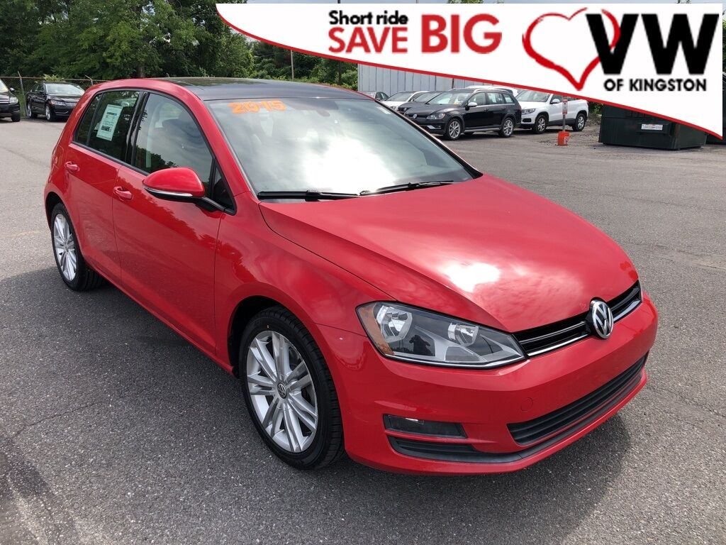 2015_Volkswagen_Golf_TDI SE 4-Door_ Kingston NY