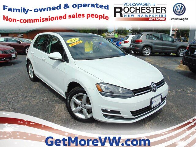 2015 Volkswagen Golf TDI SE 4-Door Rochester NH