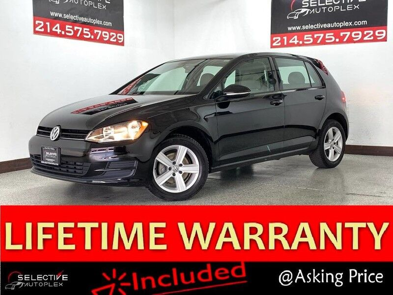2015 Volkswagen Golf TDI S,Leather,Bluetooth,Sat Radio Carrollton TX
