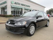 2015_Volkswagen_Golf_TSI S 5M MANUAL TRANSMISSION REAR CLIMATE, BLUETOOTH_ Plano TX