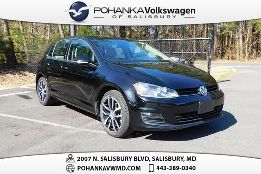 2015_Volkswagen_Golf_TSI SE 4-Door_ Salisbury MD