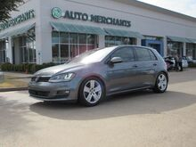 2015_Volkswagen_Golf_TSI SE 6A SUNROOF, BLUETOOTH, SAT RADIO, AUX INPUT, CD PLAYER, LEATHER_ Plano TX