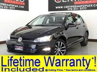 Volkswagen Golf TSI SE LIGHTING PKG PANORAMA LEATHER HEATED SEATS REAR CAMERA BLUETOOTH 2015