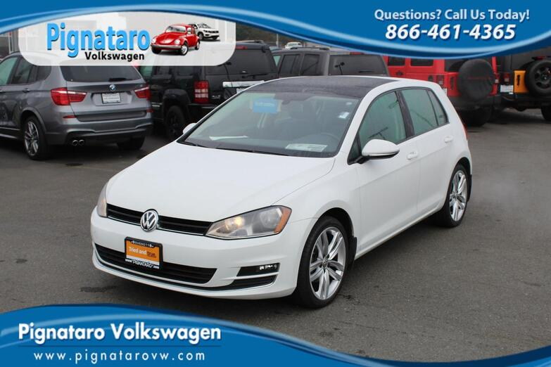 2015 Volkswagen Golf TSI SEL 4-Door Everett WA