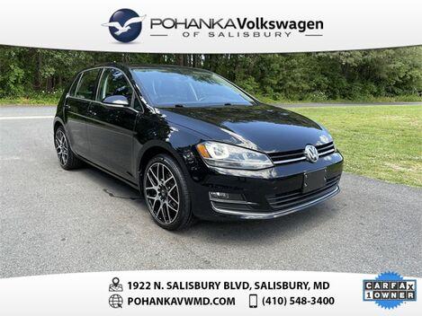 2015_Volkswagen_Golf_TSI SEL 4-Door_ Salisbury MD