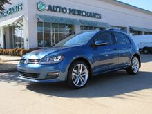 2015_Volkswagen_Golf_TSI SEL 6A  AUTOMATIC, LEATHER SEATS, NAVIGATION, BACKUP CAMERA, PUSH BUTTON START, HEATED SEATS_ Plano TX