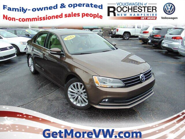 2015 Volkswagen Jetta 1.8T SE w/ Connectivity and Navigation Rochester NH