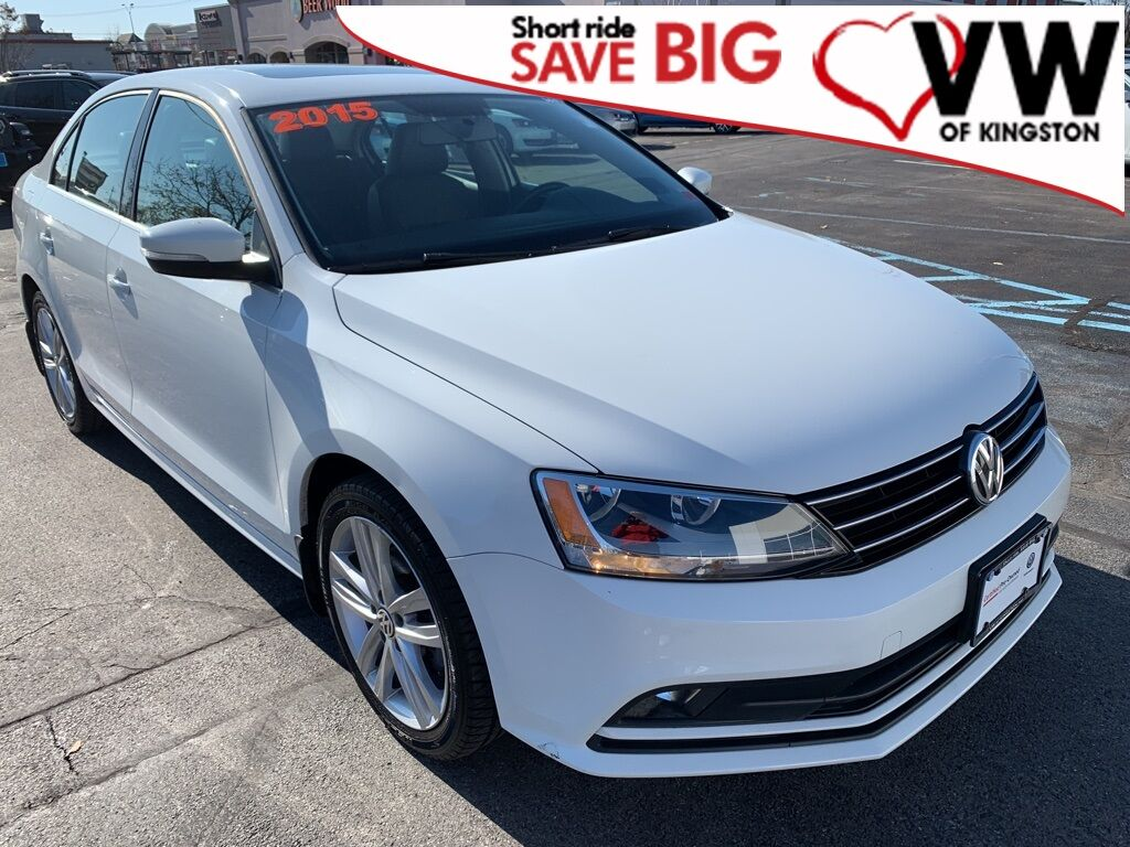 2015_Volkswagen_Jetta_1.8T SEL_ Kingston NY