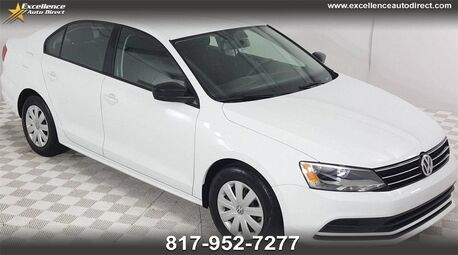 2015_Volkswagen_Jetta_2.0L S CRUISE CONTROL,BLUETOOTH/USB_ Euless TX
