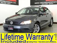Volkswagen Jetta 2.0L TDI SE W/ CONNECTIVITY SUNROOF LEATHER HEATED SEATS REAR CAMERA BLUETO 2015