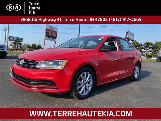 2015 Volkswagen Jetta 4dr Auto 1.8T SE PZEV Terre Haute IN