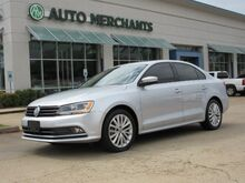 2015_Volkswagen_Jetta_SE, LEATHER, SUNROOF, AUX/USB/BLUETOOTH, NAV, BACKUP CAM, HTD SEATS, PSH BTN START, KEYLESS_ Plano TX