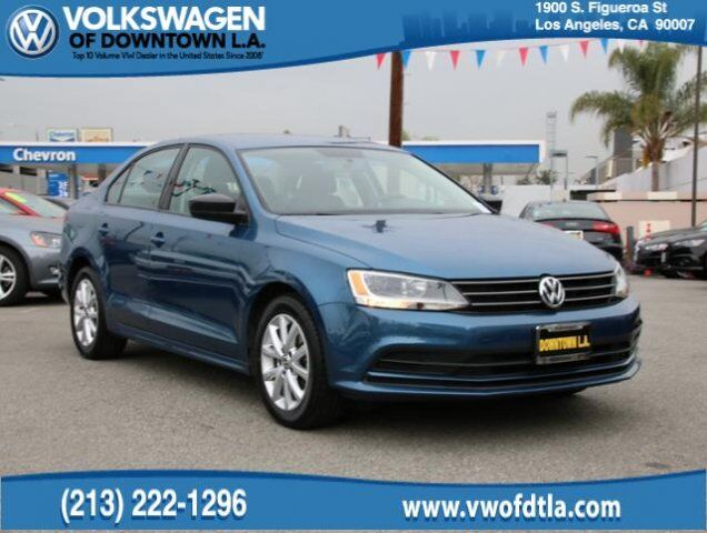 2015 Volkswagen Jetta Sedan 1.8T SE Los Angeles CA