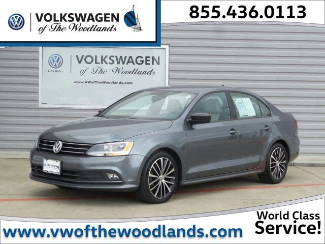 2015 Volkswagen Jetta Sedan 1.8T Sport The Woodlands TX