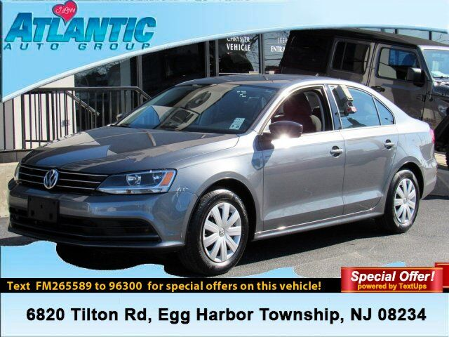 2015 Volkswagen Jetta Sedan 2.0L S w/Technology Egg Harbor Township NJ