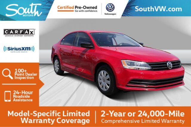 2015 Volkswagen Jetta Sedan 2.0L S w/Technology Miami FL
