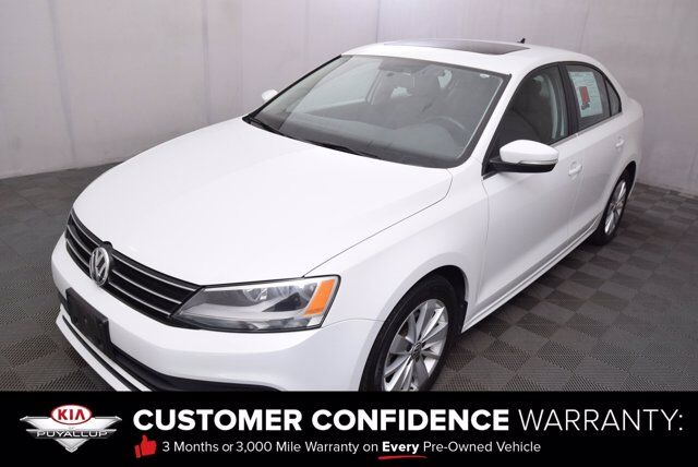 2015 Volkswagen Jetta Sedan 2.0L TDI SE w/Connectivity Puyallup WA