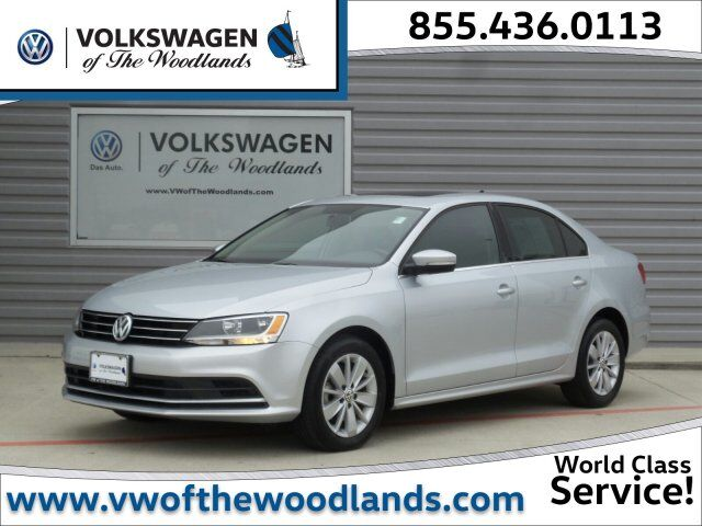 2015 Volkswagen Jetta Sedan 2.0L TDI SE w/Connectivity The Woodlands TX
