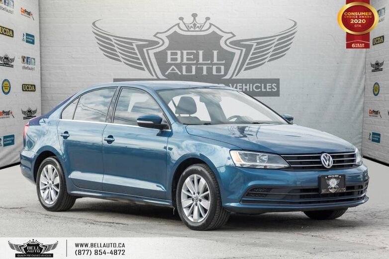2015 Volkswagen Jetta Sedan Trendline, NO ACCIDENT, REAR CAM, SUNROOF, HEATED SEATS Toronto ON