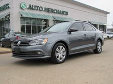 2015_Volkswagen_Jetta_TDI SEL 6M LEATHER, SUNROOF, BACKUP CAMERA, FRONT HEATED SEATS_ Plano TX