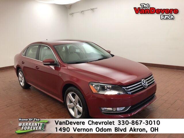 2015 Volkswagen Passat 1.8T Limited Edition Akron OH