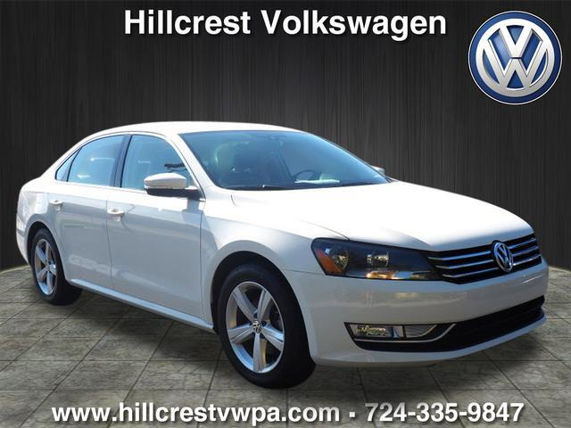2015 Volkswagen Passat 1.8T Limited Edition PZEV Lower Burrell PA