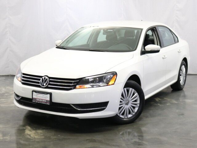 2015 Volkswagen Passat 1.8T S With Manual Transmission Addison IL