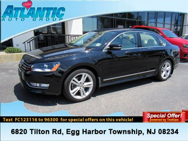 2015 Volkswagen Passat 1.8T SE w/Sunroof & Nav Egg Harbor Township NJ