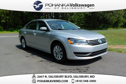 2015_Volkswagen_Passat_1.8T Wolfsburg Edition ** LEATHER ** 36+ MPG **_ Salisbury MD