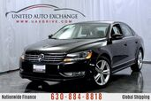 2015 Volkswagen Passat 2.0L ** TDI DIESEL ENGINE ** SEL Premium w/ Navigation, Sunroof, Fender Premium Sound System, Bluetooth Audio, Parking Aid with Rear View Camera, Heated Leather Seats,