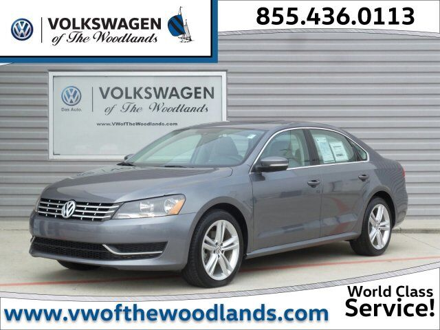 2015 Volkswagen Passat 2.0L TDI SE w/Sunroof The Woodlands TX