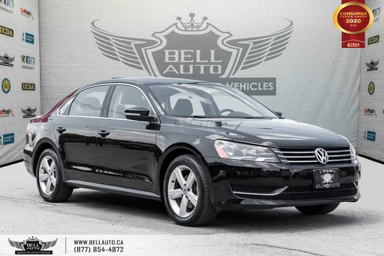 2015 Volkswagen Passat COMFORTLINE, NO ACCIDENT, LEATHER, BACK-UP CAM, SUNROOF Toronto ON