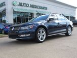 2015 Volkswagen Passat SE 6A LEATHER, NAVIGATION, SUNROOF, BACKUP CAMERA, KEYLESS START, HTD FRONT SEATS, BLUETOOTH