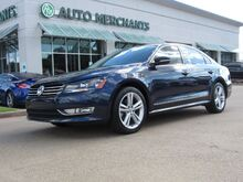 2015_Volkswagen_Passat_SE 6A LEATHER, NAVIGATION, SUNROOF, BACKUP CAMERA, KEYLESS START, HTD FRONT SEATS, BLUETOOTH_ Plano TX