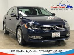 2015_Volkswagen_Passat_TDI SE AUTOMATIC NAVIGATION SUNROOF LEATHER HEATED SEATS REAR CA_ Carrollton TX
