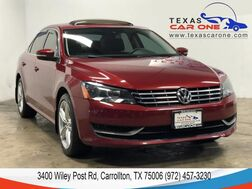 2015_Volkswagen_Passat_TDI SE AUTOMATIC SUNROOF LEATHER HEATED SEATS REAR CAMERA BLUETO_ Carrollton TX