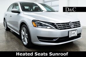 2015_Volkswagen_Passat_TDI SE Heated Seats Sunroof_ Portland OR