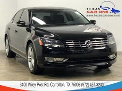 2015_Volkswagen_Passat_TDI SEL PREMIUM AUTOMATIC NAVIGATION SUNROOF LEATHER HEATED SEAT_ Carrollton TX