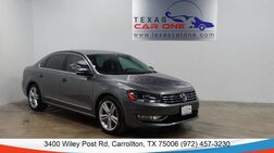 2015_Volkswagen_Passat_TDI SEL PREMIUM AUTOMATIC NAVIGATION SUNROOF LEATHER HEATED SEATS REAR CAMERA_ Carrollton TX