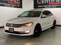 Volkswagen Passat TDI SEL PREMIUM NAVIGATION SUNROOF LEATHER HEATED SEATS REAR CAMERA FENDER 2015