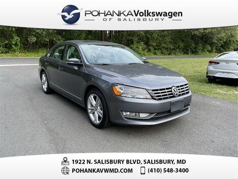 2015_Volkswagen_Passat_TDI SEL Premium ** CERTIFIED WARRANTY **_ Salisbury MD