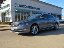 2015_Volkswagen_Passat_TDI SEL Premium 6A 2.0 L 4CYL DIESEL,LEATHER , NAVIGATION SYSTEM, SUNROOF, HEATED FRONT SEATS_ Plano TX