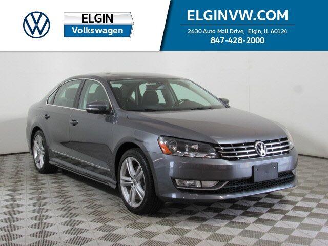 2015 Volkswagen Passat V6 SEL Premium Elgin IL