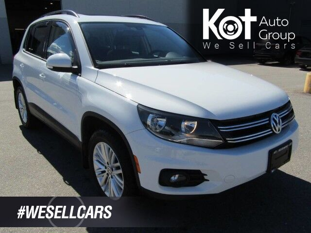 2015 Volkswagen TIGUAN HIGHLINE TURBO! LEATHER! SUNROOF! NAV! 1 OWNER! NO ACCIDENTS! RARE UNIT! Kelowna BC