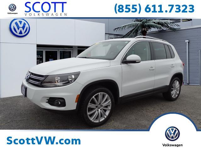 2015 Volkswagen Tiguan 4MOTION 4dr Auto SE w/Appearance Providence RI